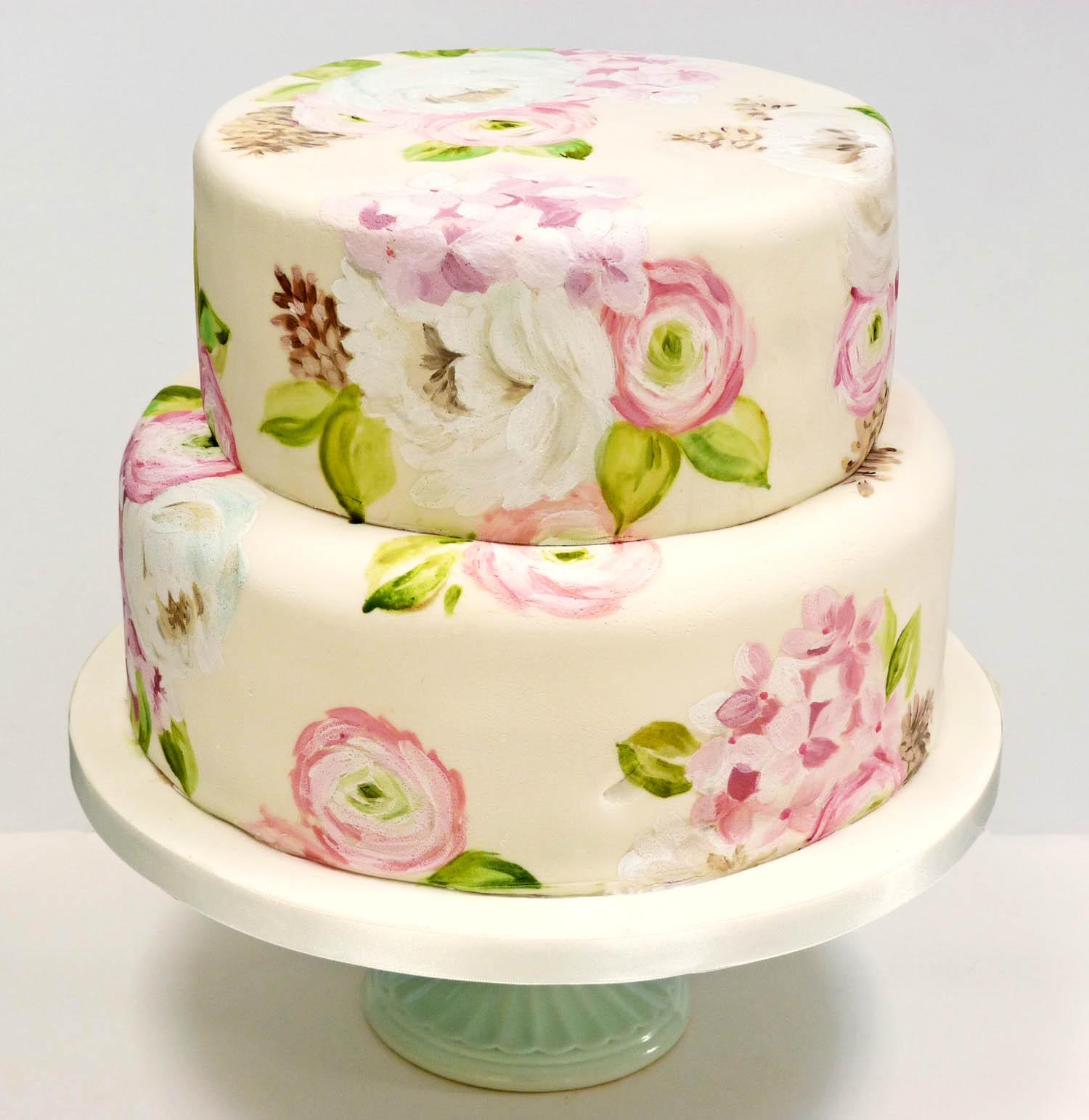 Painted cakes   Nevie-...