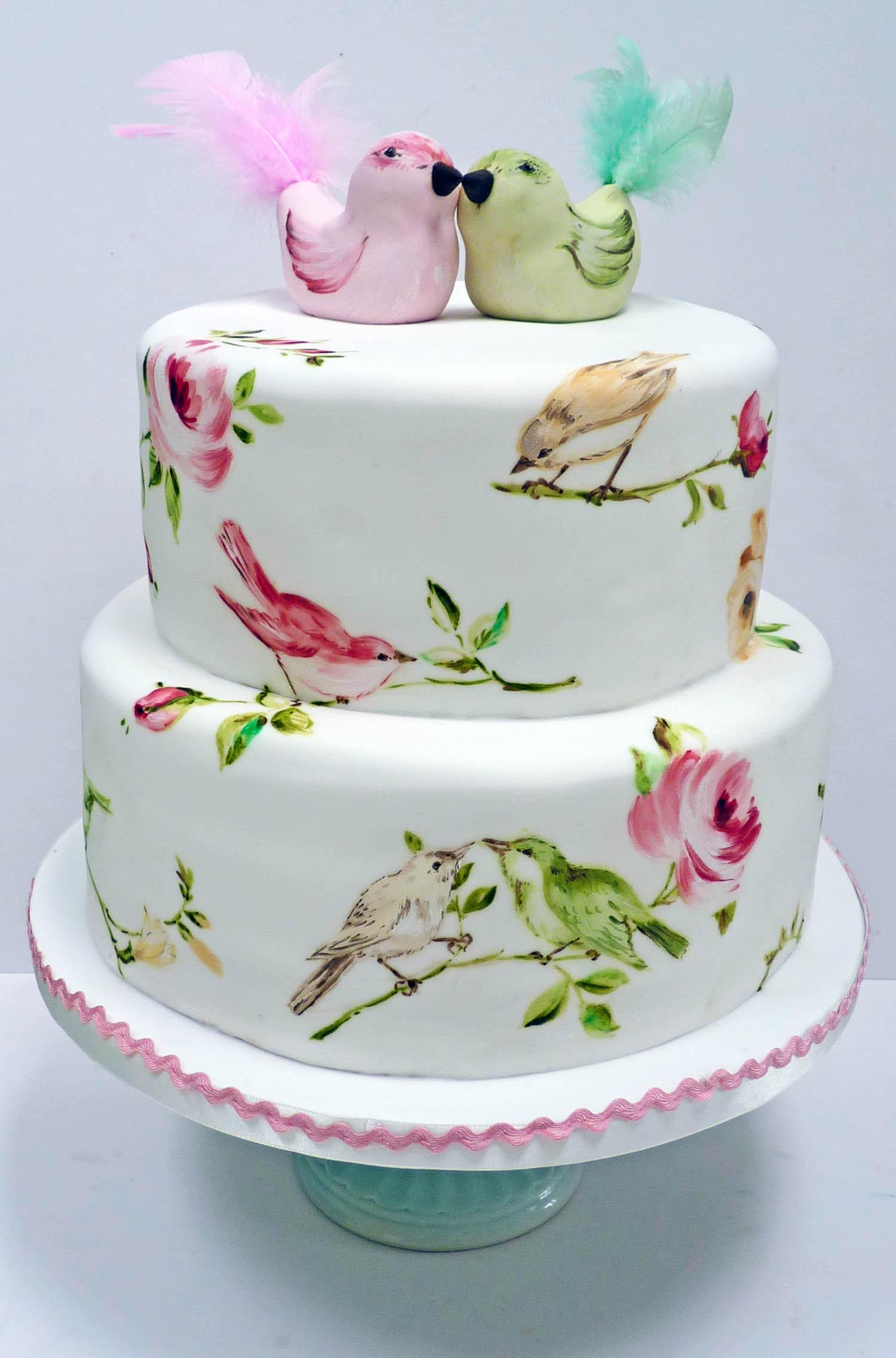 Birds Cream Cakes