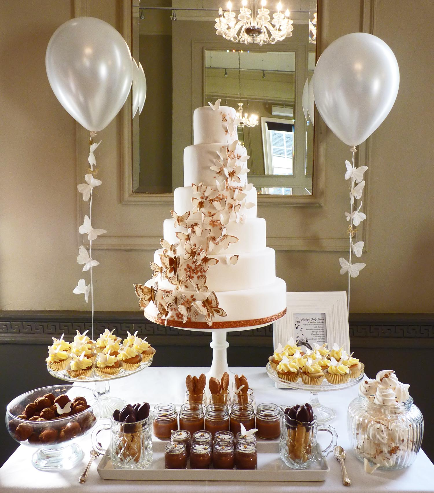 Dessert Table Wedding Cake: Dessert Table