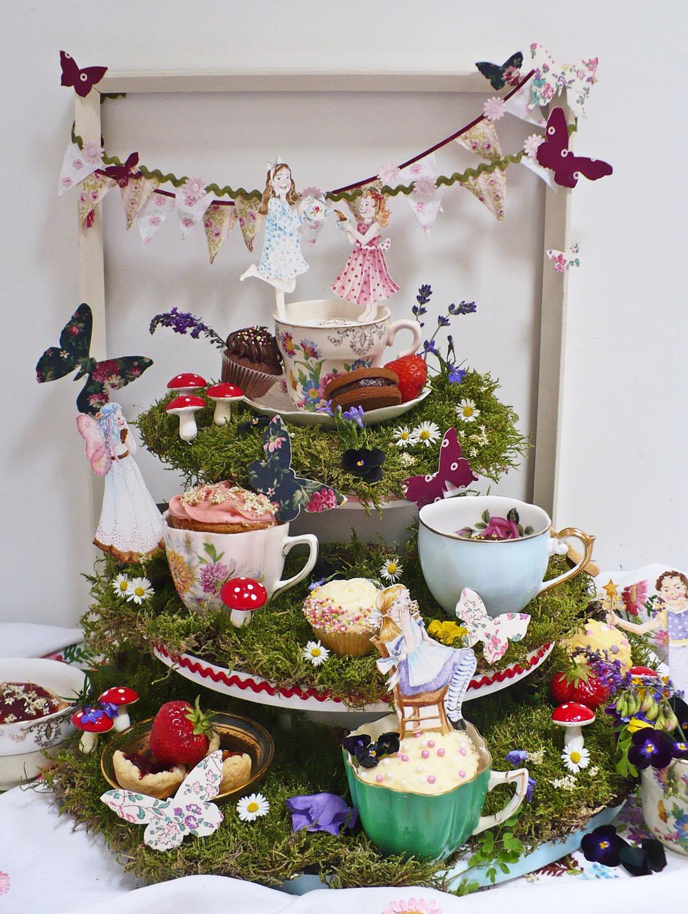 Nevie Pie Cakes Vintage Tea